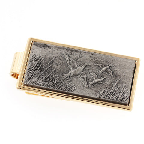 Ducks Money Clip