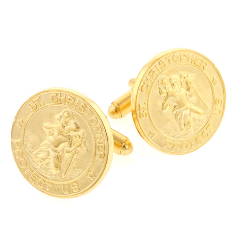 Saint Christopher Cufflinks