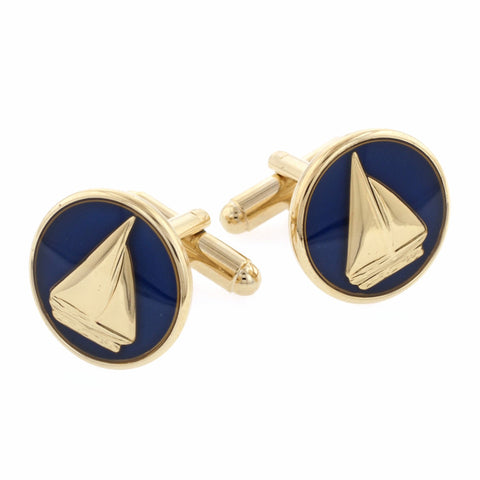 Moonlight Sail Cufflinks