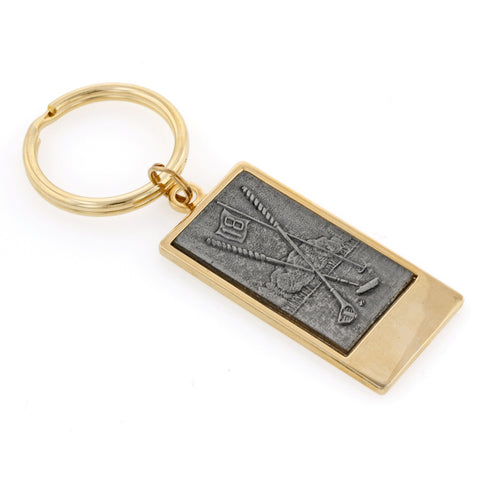 Golf Key Ring