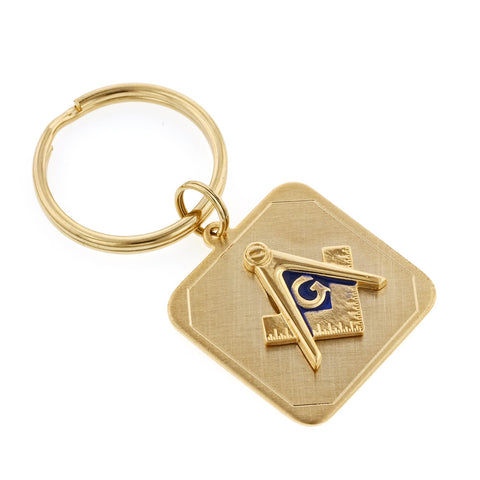 Masonic Emblem Key Ring
