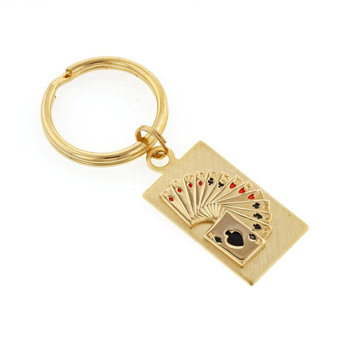 Playing Cards Key Ring