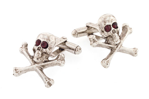Skull and Crossbone Cufflinks