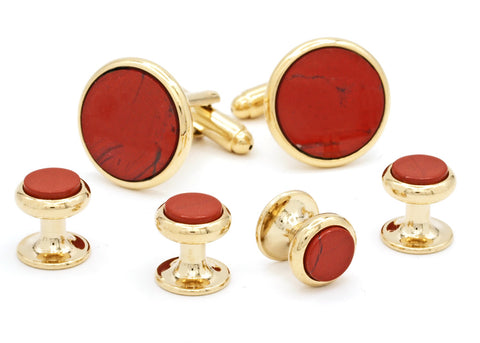 Red Jasper Formal Set