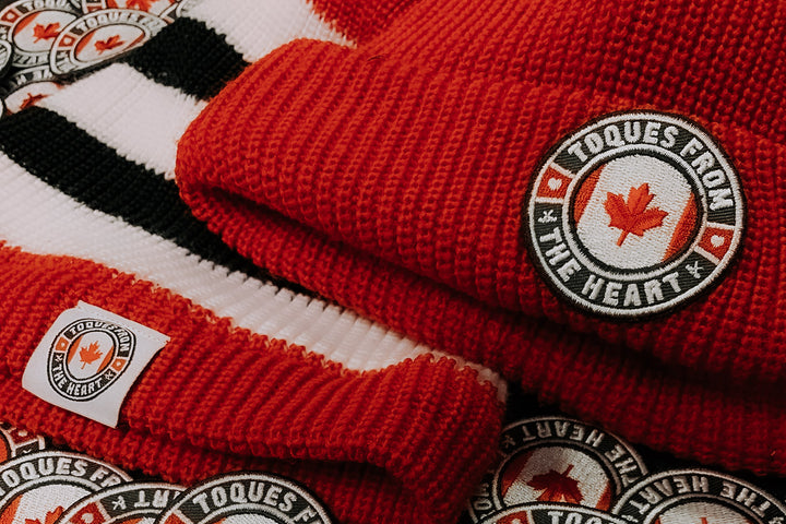 Toques with Purpose - The Story Behind the Hockey Sock Toques