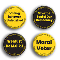 Poor Peoples Campaign Button Pack #4