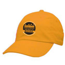 We Must Do M.O.R.E. - Gold Baseball Hat