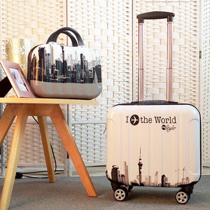 Woman Travel suitcase