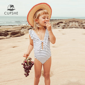 CUPSHE Stripe Knotted
