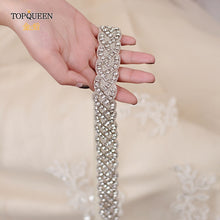 Load image into Gallery viewer, TOPQUEEN S216 wedding bridal belt
