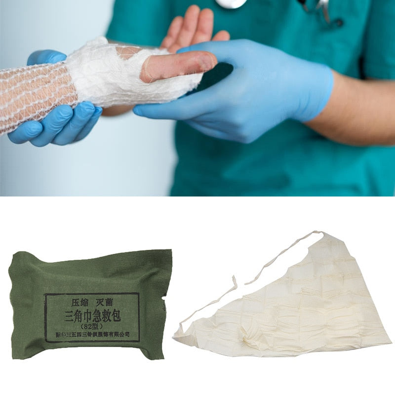 Triangle Towel First Aid Kit
