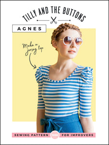 Tilly and the Buttons - Agnes Jersey top pattern