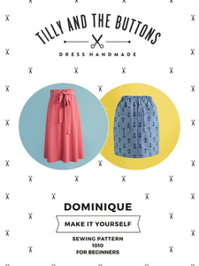 Tilly and the Buttons - Dominique skirt pattern