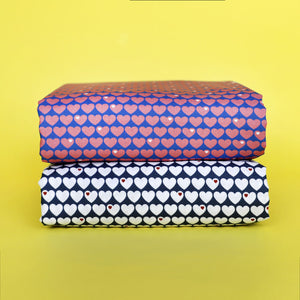 Little hearts cotton bundle / 3m / SAVE 15%