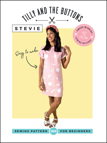 Tilly and the Buttons - Stevie dress pattern