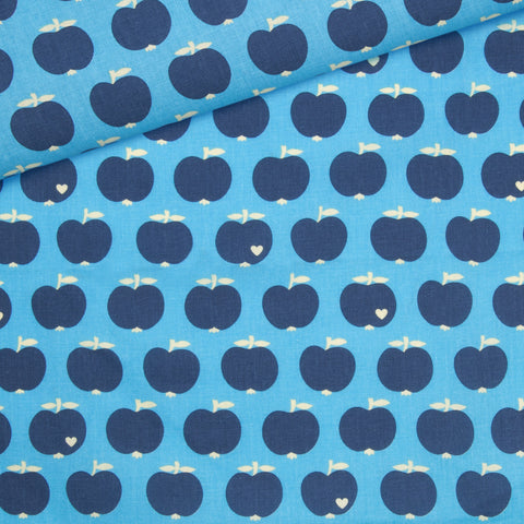 Apple Cotton /  blue