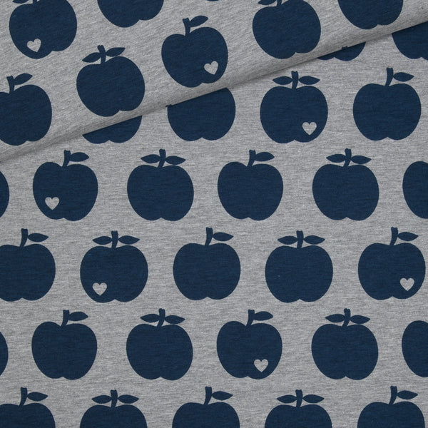 Big apple jersey / grey and navy