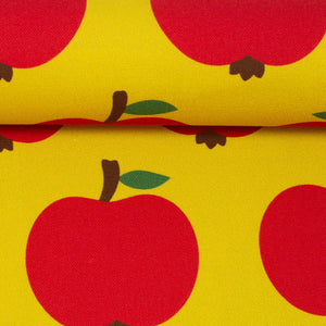 Canvas apples yellow / 80cm