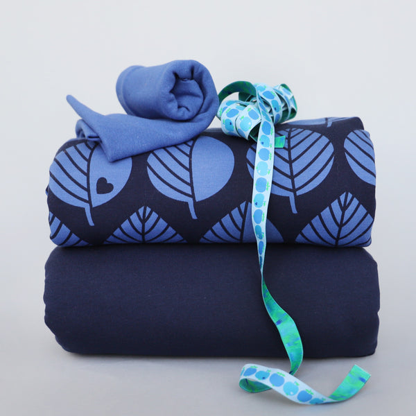 Leaves sweat bundle blue / Save 15%