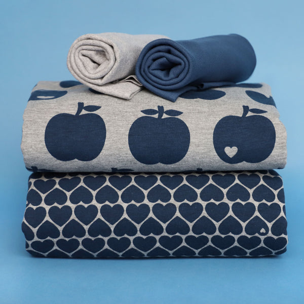 Apple and heart me bundle grey / Save 15%