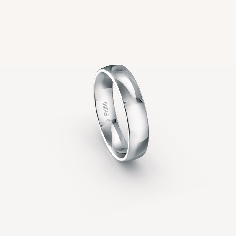 Polished Band in Platinum (950) - 5mm