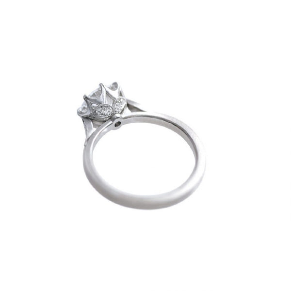 Grace Solitaire with Shoulder Petals