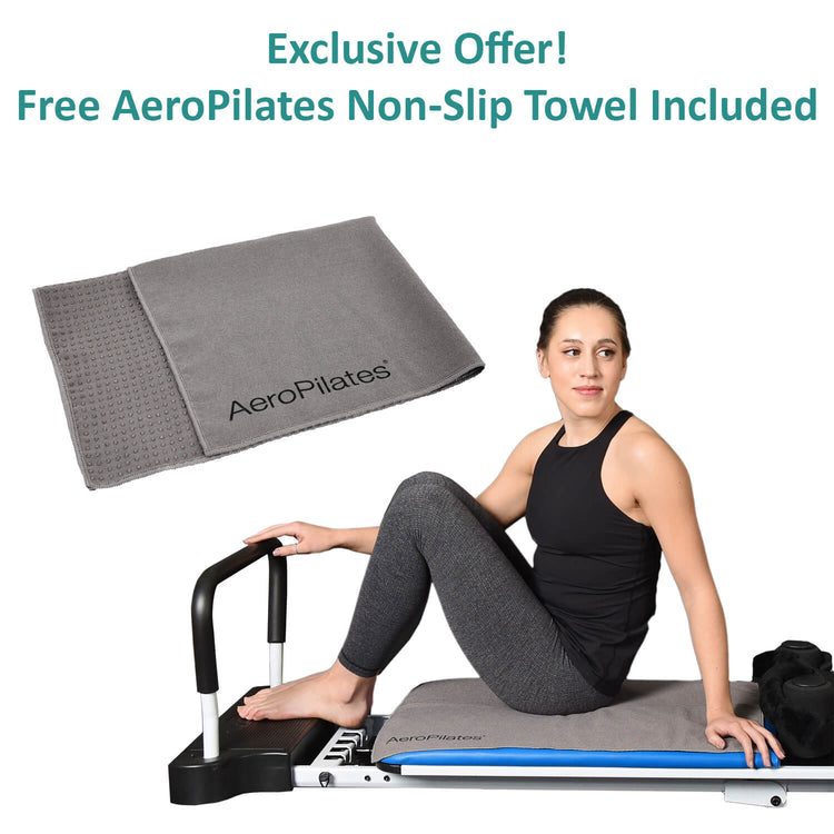 aeroPilates free towel included with reformer