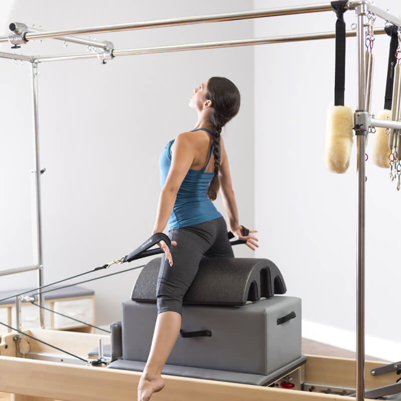 pilates cadillac trapeze reformers for sale - pilates reformers plus