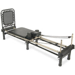 AeroPilates 700 Pilates Reformer with Stand & Rebounder, 4-Cord