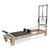 BASI Systems Wood Pilates Reformer with Tower - Pilates Reformers Plus