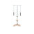 BASI Systems Pilates Ped A Pull with Stool - Pilates Reformers Plus