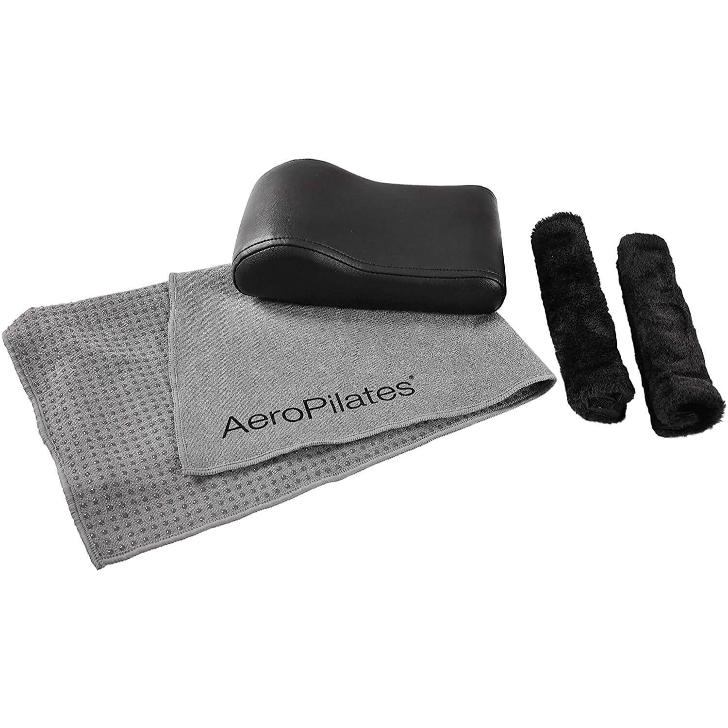 Stamina AeroPilates Comfort Kit with Head Pillow, Non-Slip Towel, and Hand Grips - Pilates Reformers Plus