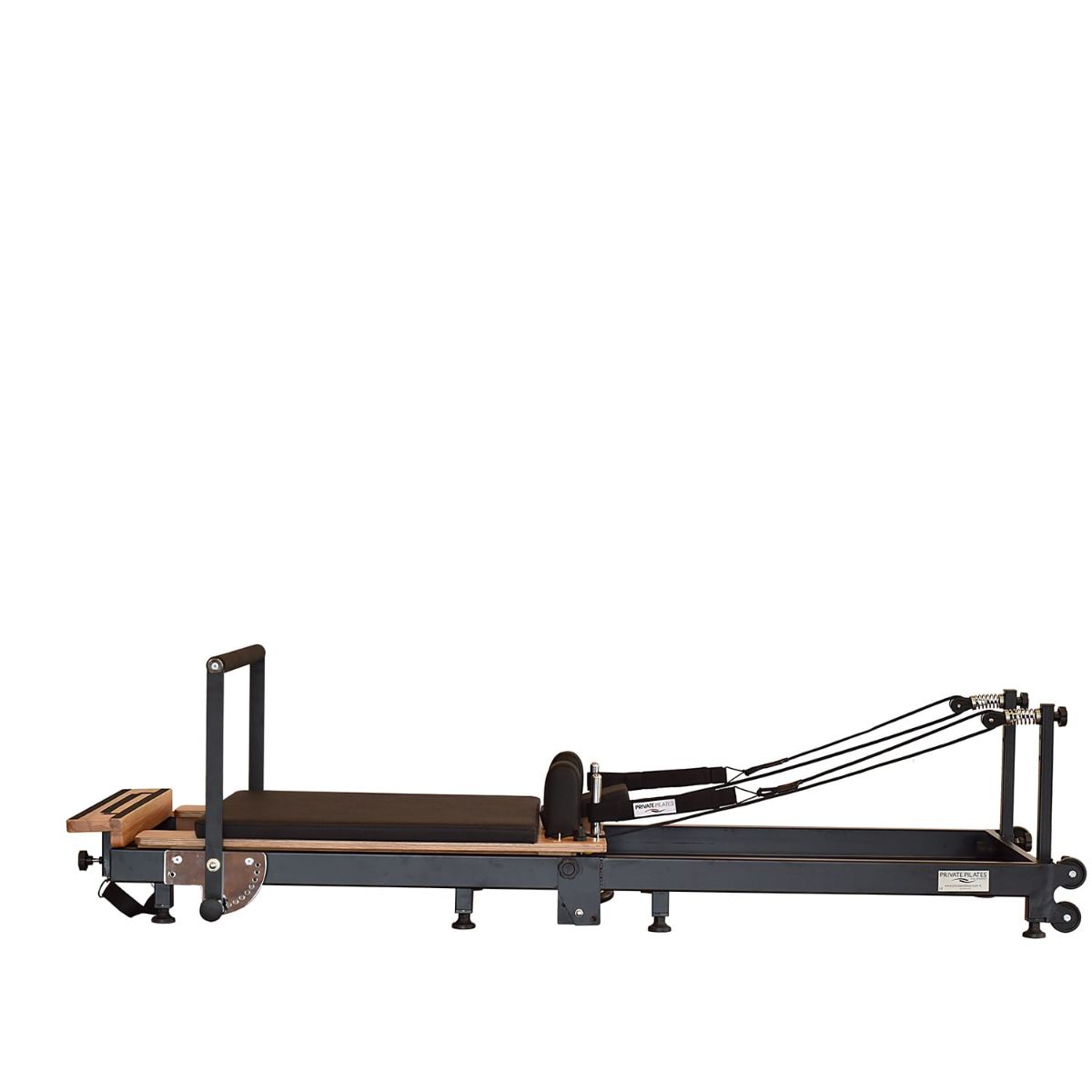 Private Pilates Premium Foldable Metal Pilates Reformer - Pilates Reformers Plus