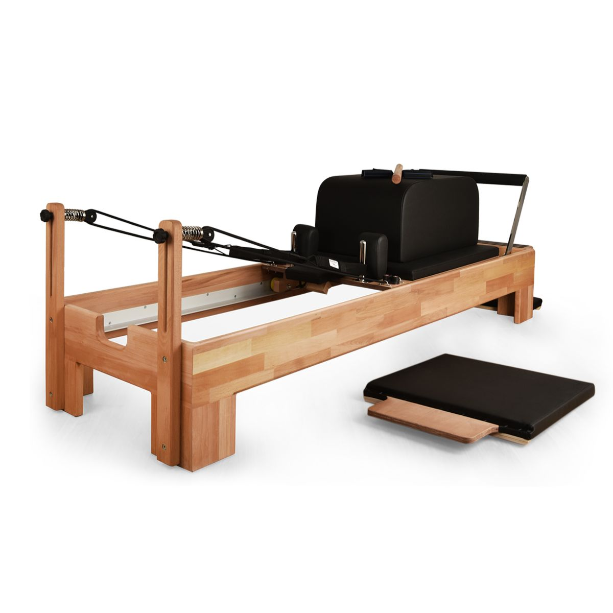 Private Pilates Premium Wood Reformer - Pilates Reformers Plus