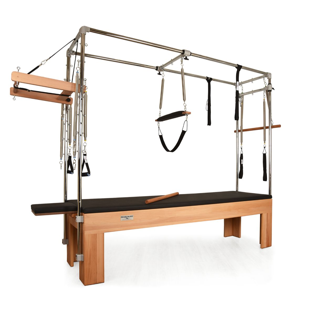 Private Pilates Premium Wood Cadillac Trapeze Table - Pilates Reformers Plus