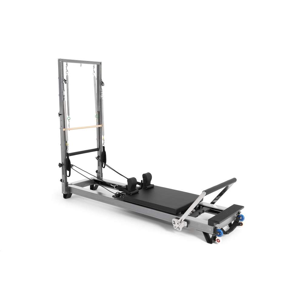 Elina Pilates Aluminium Reformer with Tower - Pilates Reformers Plus