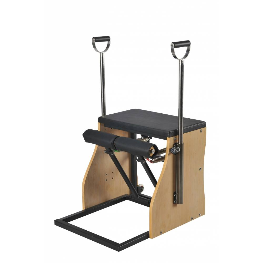Elina Pilates Combo Chair with Handles - Pilates Reformers Plus