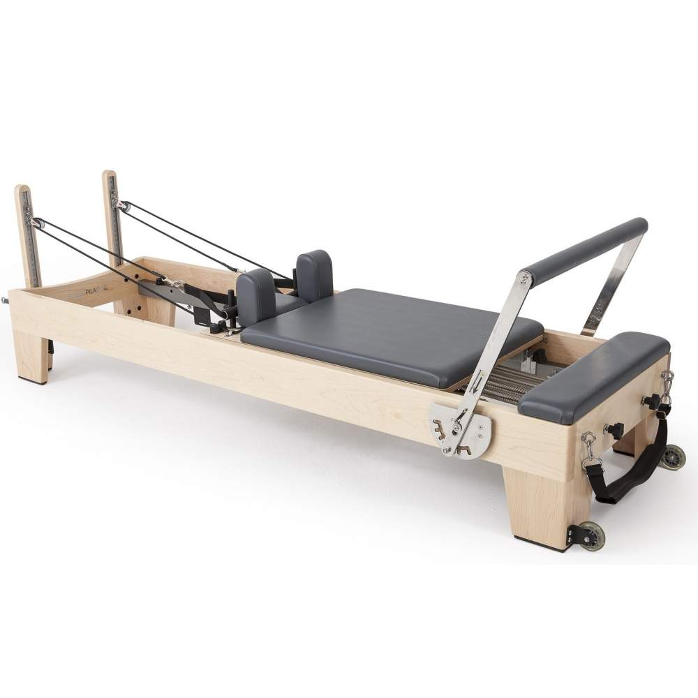 Elina Pilates Elite Wood Reformer - Pilates Reformers Plus