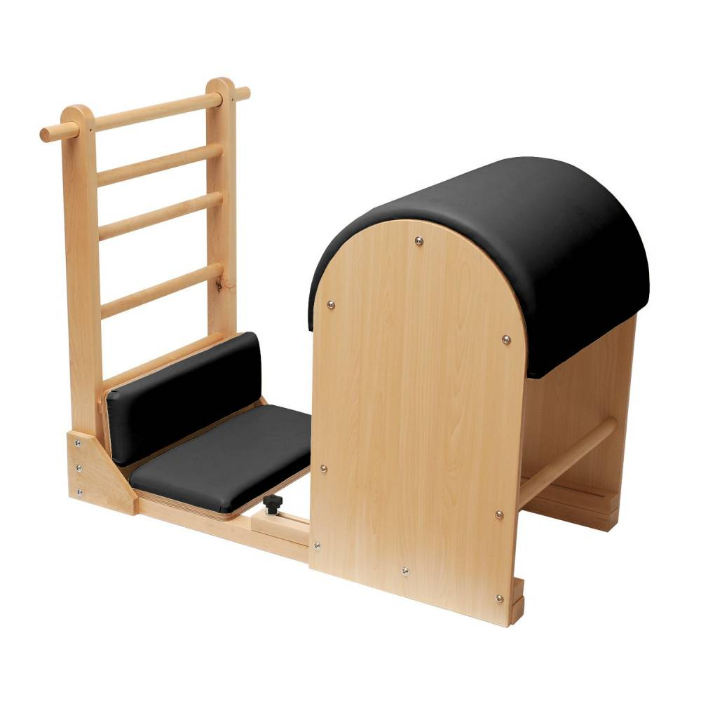 Elina Pilates Elite Ladder Barrel with Wooden Base - Pilates Reformers Plus