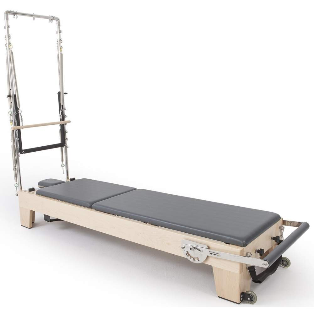 Elina Pilates Elite Wood Reformer with Tower - Pilates Reformers Plus