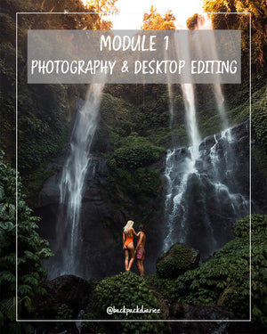Module 1 - Photography and Desktop Editing