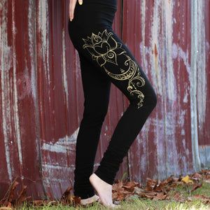Divine Feminine Leggings, Organic Cotton - Discontinued