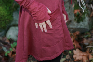 Empress Sweater in Burgundy