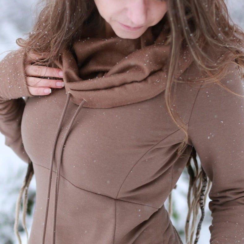 Empress Sweater in Mocha