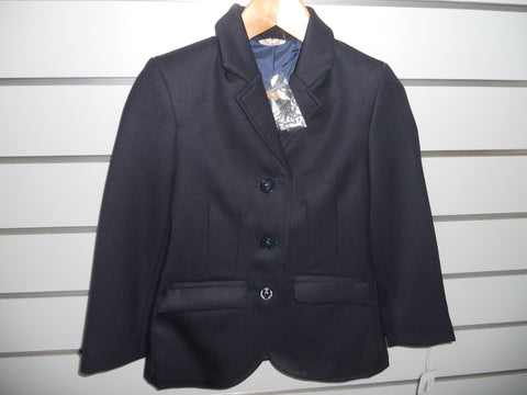 EQUETECH Junior Stirling Wool Bespoke Show jacket (AUS Size 6 UK Size 24 )$50.00