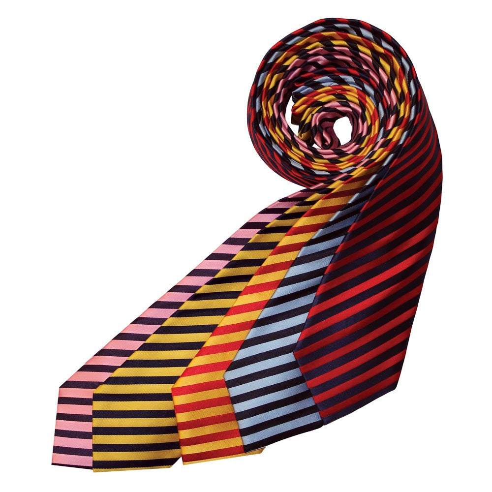 Equetech Adults Broad Stripe Show Tie