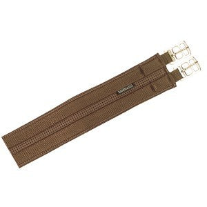 Equi-Prene 2 Buckle Girth, with Stainless Steel Buckles, Brown or Black