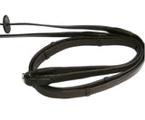 Saddlery Hub Soft Padded Reins, Havana or Black, Full or Pony