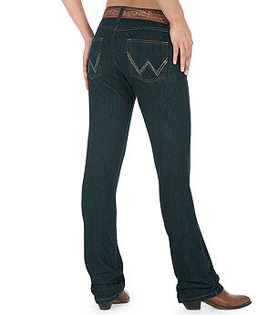 Wrangler Women's Q-Baby Ultimate Riding Jeans - Dark Dynasty