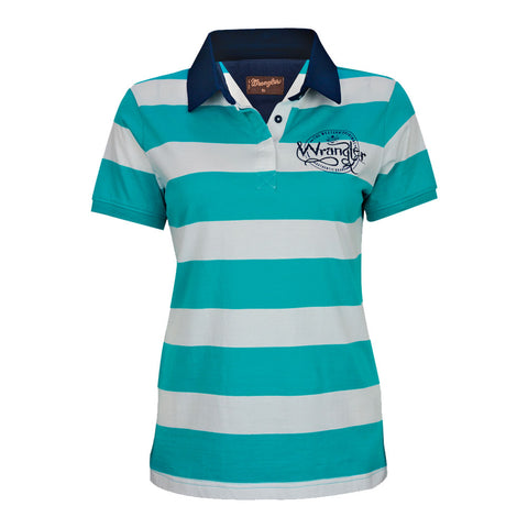 Women's Sydney Short Sleeve Polo Top - Wrangler